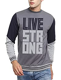Sayitloud Men Printed Sweatshirt