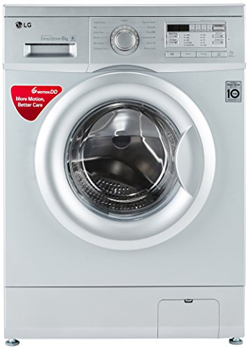 LG 6 kg Fully-Automatic Front Loading Washing Machine (FH0B8NDL25, Luxury...