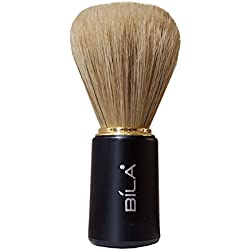 Bila Jazz Black Pure Natural Bristles Shaving Brush-BB105