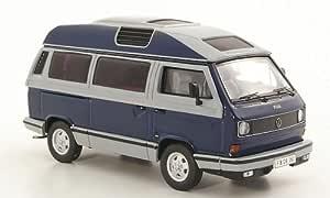 Vw T3a Dehler Profi Dkl Blau Grau Modellauto Fertigmodell Premium Classixxs 1 43 Spielzeug