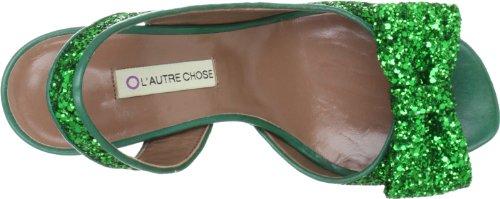 L'Autre Chose Sandalo Donna LD3301.95CP00544, Sandales femme Vert-TR-K1-3