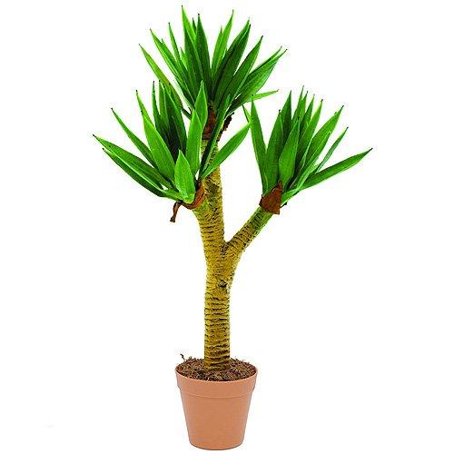 Europalms 61420 Plante de Décoration Yucca Palme Brousse Vert 105 cm