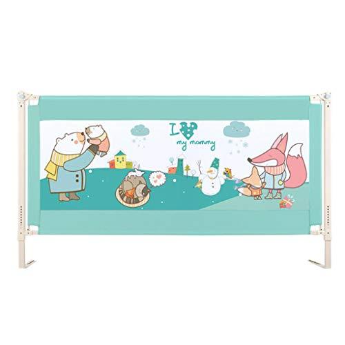 nkind-Bettgitter/Fallschutz Einzelner Zaun für Kleinkinder/vertikales Anheben des Kindersicherheitsbettschutzes für das Kingsize-Bett, robust und fest (Einstellhöhe 86-101 cm ()