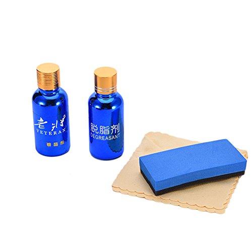 Autolack, Abdichtmittel, Siliciumdioxid Glaspolitur, Schutz-Set, 2 Stück