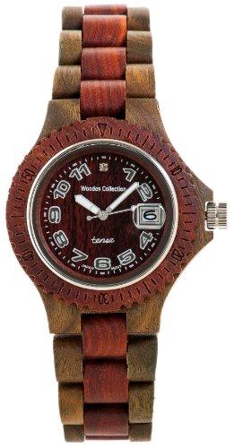 Tense Wood Uhr G4100GS-Armbanduhr