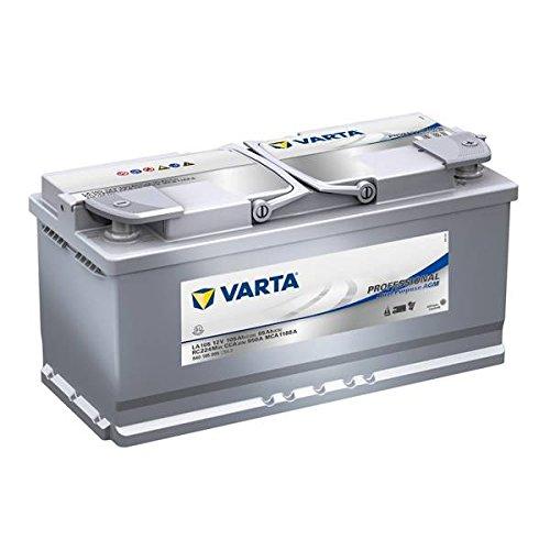 Varta Batteria Auto Professional Dual Purpose AGM 105AH 950A Positivo A Dest