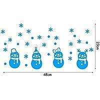 Artículos creativos Glow-In-The-Dark Christmas Snowman Glow-In-The-Dark Paste-Blue