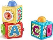 Fisher-Price - Bloques Activity Juguete Bebé, Multicolor (Mattel DHW15)