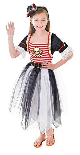 Piraten-Prinzessin - Kinder- Kostüm - Small - 110cm bis 122cm
