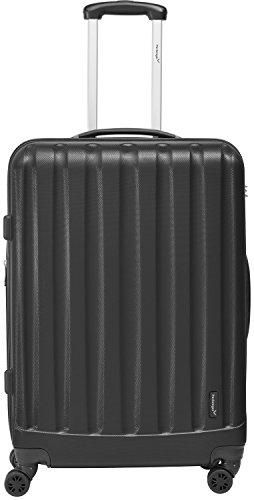 Packenger Velvet Koffer, Trolley, Hartschale 3er-Set in Schwarz, Größe M, L und XL - 2