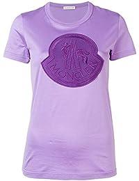 d62b36de80d MONCLER Femme 80629008390X61B Violet Coton T-Shirt