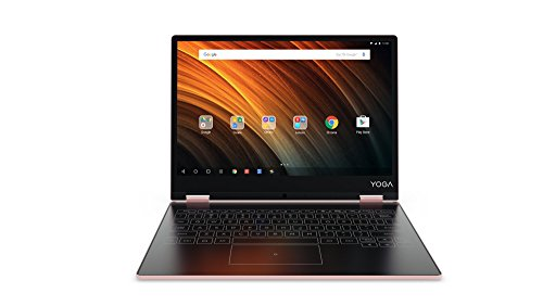 Lenovo Yoga A12 31 cm (12,2 Zoll HD IPS Touch) Convertible Tablet-PC (Intel Z8550, 2GB RAM, 32GB eMMC, Android 6.0) rose gold (Netbook Android)