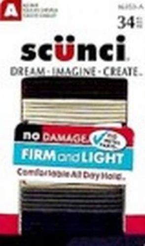 SCUNCI Natural No Damage Hair Elastics by Scunci