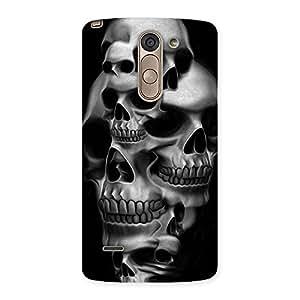 Skull Monument Back Case Cover for LG G3 Stylus