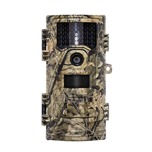 Dqmj Wildtierkamera FHD 1080P 20MP Jagdkamera Fernüberwachung Nachtsicht Bewegungserkennung Ultra Lange Standby IP54 wasserdicht (Einem Video-spiel Gefangen In)