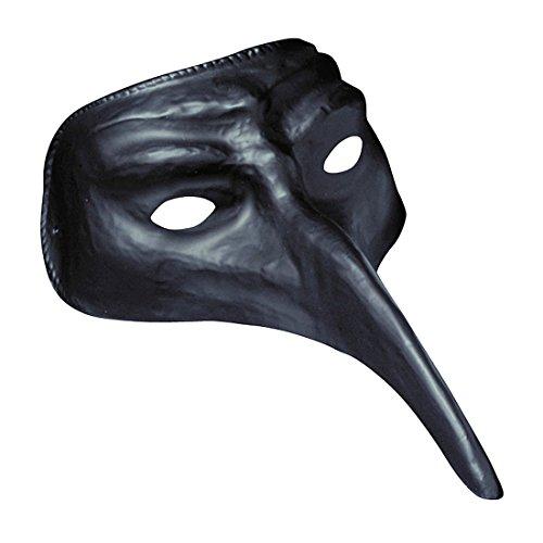Schnabelmaske schwarz Phantom Maske Rabenmaske Augenmaske Schnabel Halbmaske Augen Venedigmaske Maskenball