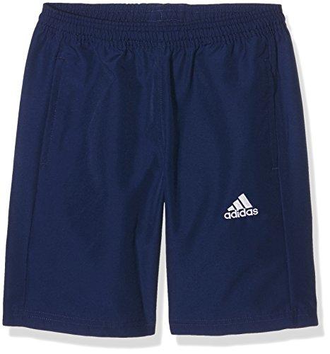 adidas Kinder Shorts Coref woven y Trainingsshorts, Dark Blue/White, 140 -