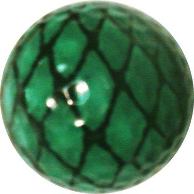 Générique Peau de Serpent Balle de Golf Excellent Cadeau de l'article NE Ternissent Pas ou Puce