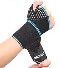 ShopSquare64 Gewicht Anheben Eignung Handverband Elastische Handgelenk Verletzungs UnterstüTzung Sport schützender Armband