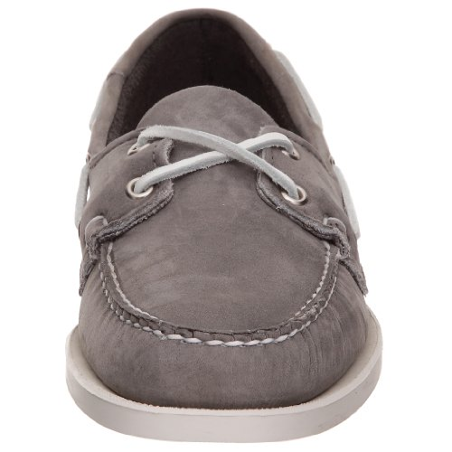 Sebago Docksides, Chaussures bateau femme Gris