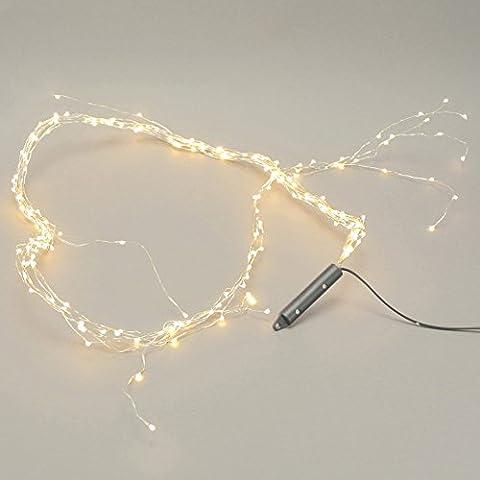 200er LED-Lichterstrang WARM WHITE