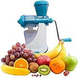 Kuber Industries™ Juicer, Fruit & Vegetable Juicer, Manual Hand Juicer, Fruit Juicer Handel Vacuum Base (Steel Handle) Code-JUC02