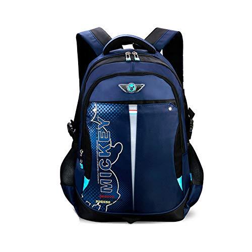 YIWU Schultasche Grundschüler Junge Klasse 4-6 1-3-5 Vier, Fünf, Sechs Frau 6-12 Jahre Alt Kinder Schultasche (5 Alt Jahre Für Kinder Handy)
