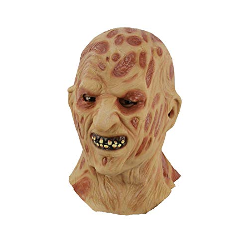 loween-Kostüm Haut Ulzerated Monster Latex Maske, Horror Ghost Scary, Prank Maske Face Scary Party, Bar-Requisiten, Masquerade 8 In × 12 In ()