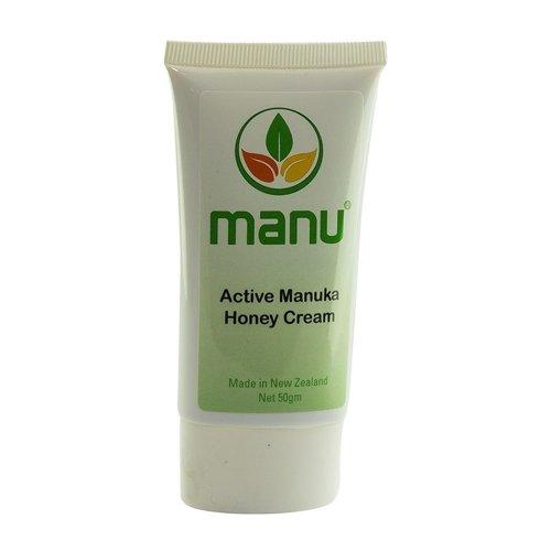Active Manuka Honig-Creme - 50 Gramm | Hochwertige Creme aus Manuka-Honig | Pflegt und schützt die Haut | Spendet Feuchtigkeit | Stärkt das Immunsystem der Haut | Gegen trockene und gereizte Haut (1)