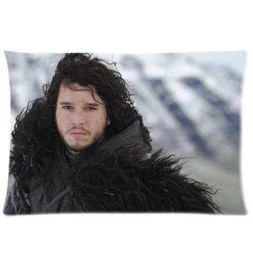 Game of Thrones Jon Snow Custom Kissenbezüge Kissen Sham Queen Size Kissen Kissen Schutzhülle Zwei Seiten bedruckt 50,8x 76,2cm