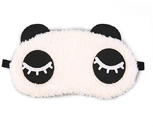 24×7 eMall Cute Panda Eye Shade Cartoon Blindfold Eyes Cover
