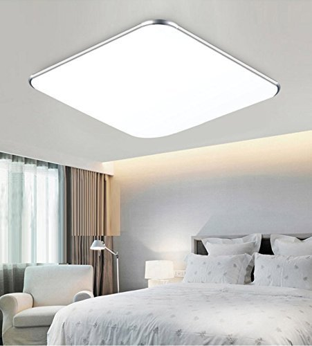 Sailun 24w kaltwei ultraslim led deckenleuchte modern deckenlampe flur wohnzimmer lampe - Wandleuchte modern wohnzimmer ...