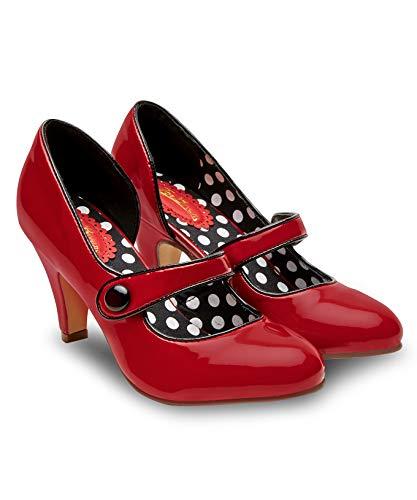 Joe Browns Damen Mine's a Martini Shoes Pumps Rot (Red A) 39 EU