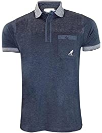 New Mens Kangol Branded 4 Styles Crew Neck Short Sleeve T-shirt Casual Top