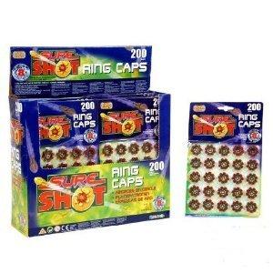 Preisvergleich Produktbild 8 Schuss Ringmunition, 5 Pakete, 125 Ringe, 1000 Schuss