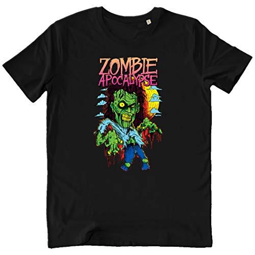 Pushertees-Store - T-Shirt Herren Black - Zombie Apocalypse -