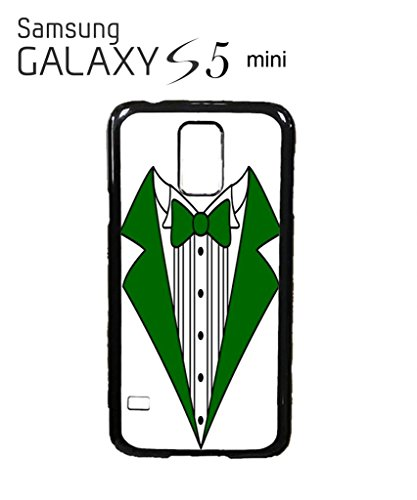 Tuxedo Suit Bow Tie Green Red Party Cool Funny Hipster Swag Mobile Phone Case Back Cover Hülle Weiß Schwarz for Samsung Galaxy S5 Mini Black -