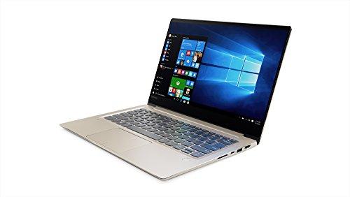 "Lenovo Ideapad 720S-13IKBR - Ordenador Portátil 13.3"" FullHD (Intel Core i5-8250U, RAM de 8 GB, 256GB de SSD, Windows Home 10) Dorado - Teclado QWERTY Español"