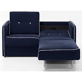 Schlafcouch mit bettkasten weiß  Schlafsofa Schlafcouch Sofa ZOE 2-Sitzer, in grau mit Bettkasten ...
