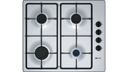 Neff T26BR46N0 Stainless Steel, 58cm Four Burner Built-In Gas Hob lowest price