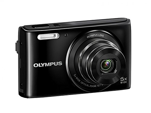Olympus VG-165 14MP Point-and-Shoot Digital Camera (Black)