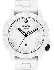 Nixon Herren-Armbanduhr Ranger Stormtrooper White Analog Quarz Edelstahl A506SW2243-00
