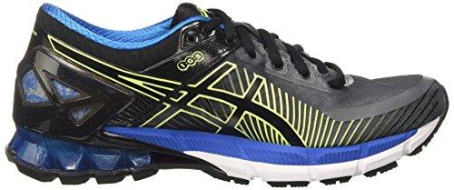 Asics Gel-Kinsei 6, Chaussures de Running Compétition Homme Gris (Carbon / Black / Electric Blue)