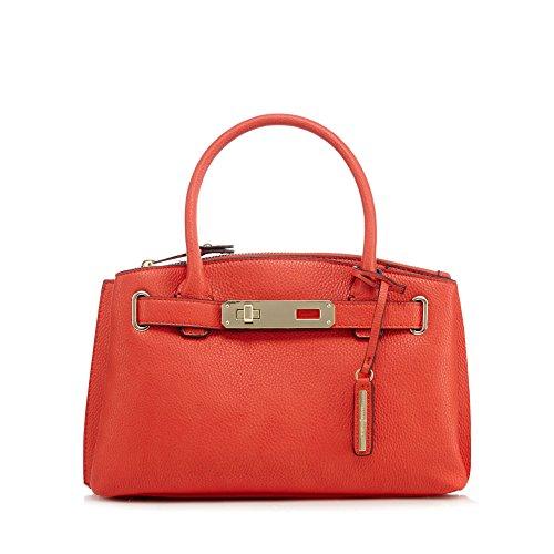 j-by-jasper-conran-womens-red-grained-small-grab-bag