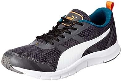 Puma Men's Asphalt-Deep Lagoon White Sneakers-10 UK/India (44.5 EU) (4059507918512)
