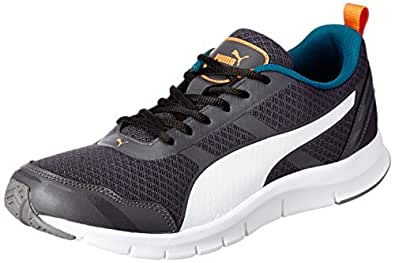 Puma Men's Asphalt-Deep Lagoon White Sneakers-6 UK/India (39 EU) (4059507918178)