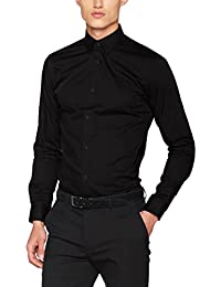 Jack & Jones Premium Jprnon Iron Shirt L/S Noos, Chemise Business Homme