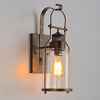 Murale Lampe Décorative Applique Wklcf Main E27 Rétro Vintage UzMVSGqp