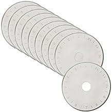 10x extra Afilada Cortamoquetas Cuchillas de repuesto 45mm