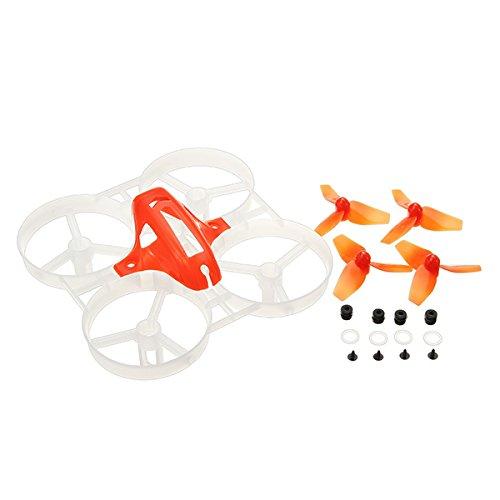 LaDicha 40 mm Propellers 75 mm Frame Kit Sets Für Kingkong Tiny7 Tiny Geschrei Racing Quadcopter-Gelb (Motor Racing Kostüm Für Kinder)